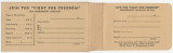 Envelope used during the Montgomery Improvement Association membership campaign.