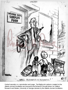 Well, business is business! / Baldy, 1962 Oct. 1 [i.e., Apr. 7]