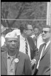 [David Brinkley and others at the March on Washington for Jobs and Freedom]