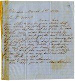 Correspondence - Letter book Volume VII