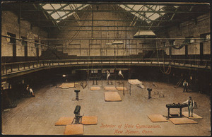 Interior of Yale Gymnasium, New Haven, Conn.