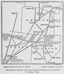 Thumbnail for Network of routes through Greene, Warren and Clinton counties, Ohio