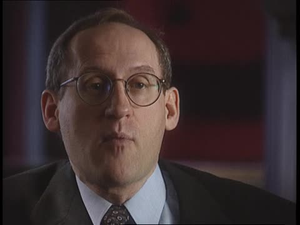 American Experience; Interview with historian Paul Finkelman, 3 of 5