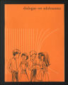 Dialogue on Adolescence. (Box 19, Manuscript 4)