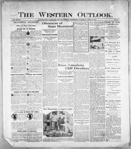 The Western Outlook. (San Francisco, Oakland and Los Angeles, Calif.), Vol. 28, No. 32, Ed. 1 Saturday, April 22, 1922 The Western Outlook