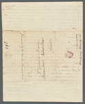 Two autographed letters from James Ramsay to Catherine Macaulay