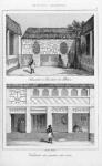 Chambre a Coucher du Palais. Vestibule du Palais des rois
