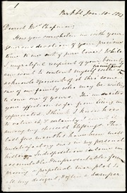 Letter to] Dearest Mrs. Chapman [manuscript