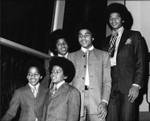Jackson 5 group portrait, Los Angeles, ca. 1970