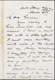 Thumbnail for Letter to] My dear Garrison [manuscript