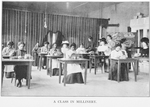A class in millinery