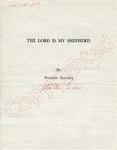 Newton Ramsey to James Meredith (Undated)