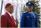 Col. (Retired) James Randall and USAFA Cadet Emanuel