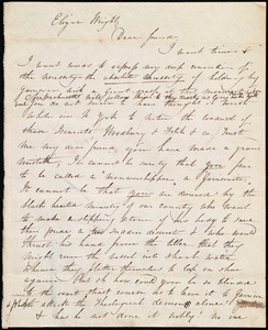 Letter from Maria Weston Chapman to Elizur Wright, [Not after 15 Sept. 1837]