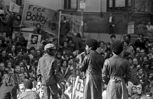Black Panther Party rally, Post Office Square, Boston