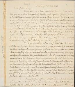 Letter from William Lloyd Garrison, Roxbury, [Mass.], to Samuel May, Jr., Sept. 25, 1876