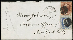 Letter from William Lloyd Garrison, Roxbury, [Mass.], to Oliver Johnson, June 2, 1872
