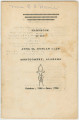 Handbook of the Anna M. Duncan Club, a civic organization for African American women in Montgomery, Alabama.