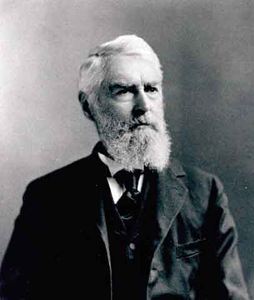 General Herman Haupt, General Manager of the Northern Pacific Railway from 1881 to 1885.