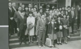 Pat Boone Visits the Ochanomizu Church of Christ, Tokyo, Japan, 1964