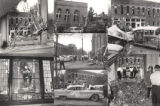 Images of the 16th Street Baptist Church bombing in Birmingham, Alabama.