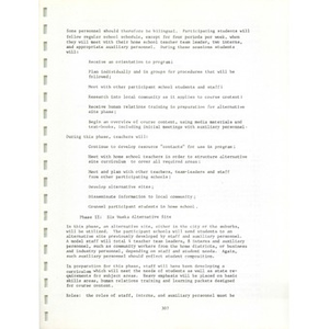 Metro ways to understanding, A plan for the voluntary elimination of racial and ethnic isolation in the schools of the Boston metropolitan area (3 of 3) Volume I.