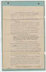 Agreement between Dana A. Dorsey and B. A. Maxfield