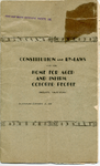Constitution and bylaws of the Home for Aged and Infirm Colored People of California