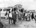 Philadelphians board buses
