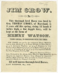 Jim Crow.