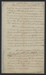 Session of November-December 1789: House Bills: Bill to Amend Act to Explain Act to Regulate Descent of Real Estate, and for Directing How Gifts and Sales of Slaves Shall be Excecuted. December 9