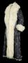 Silk and angora coat