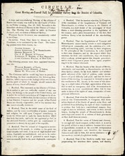 Circular [with corrections to William Lloyd Garrison] [manuscript]