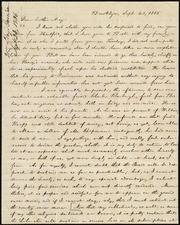 Letter to] Dear brother May [manuscript