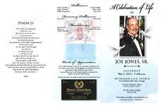 A celebrating of life of Joe Jones, Sr., Saturday, May 2, 2015- 11:00 a.m., Bethlehem A.M.E. Church, 412 2nd Street SW, Cairo, Georgia, the Rev. Michael L. Burns, officiating, the Rev. Debra Knight, pastor