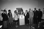 Black Business Association members swearing-in, Los Angeles, 1991