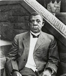 Booker T. Washington, educator and founder of Tuskegee Institute, 1911s