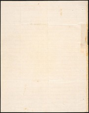 Letter to] Bro & Dear Sir [manuscript