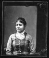 Studio portrait of portrait of a young African American woman