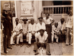 Group portrait of porters, Bahia, Brazil