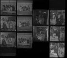 Set of negatives by Clinton Wright including Reverend Alexander's birthday party, 4-H Club at Kit Carson, C.E.P. meeting at UNLV, and Miss Phyllis Jackson, 1971