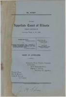 Bradley v. Cowles, Appellate Court briefs