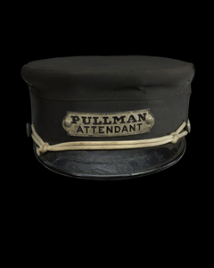 Uniform cap for a Pullman attendant