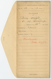 Case File of Perry Wright