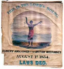 This Is The Lord's Doing, Garrison's antislavery banner