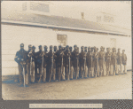 Company Of Colored Infantry At Fort Lincoln
