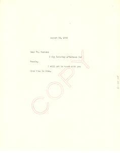 Memorandum from W. E. B. Du Bois to Council on African Affairs