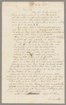 Richard James Hooker collection of letters from American women, 1788-1890, folder 42