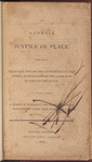 The Georgia justice of peace: containing the duties, powers and authorities of that office, as regulated by the laws now in force in this state, to which is added, a number of warrants, and other precedents, interspersed under their several heads