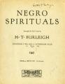 Sometimes I feel like a motherless child : Negro spiritual